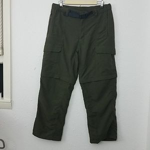 The north face mens long  M/M convertible pants